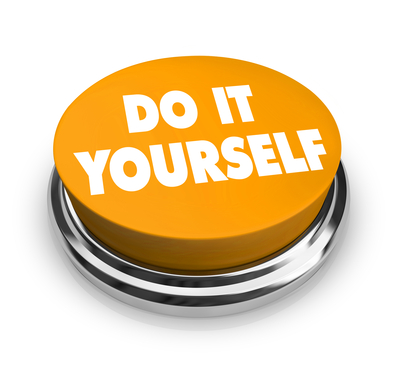 Do it Yourself - Orange Button